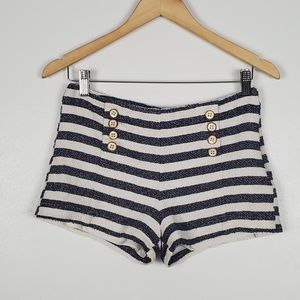 Forever 21 High Waisted Sailor Shorts Medium